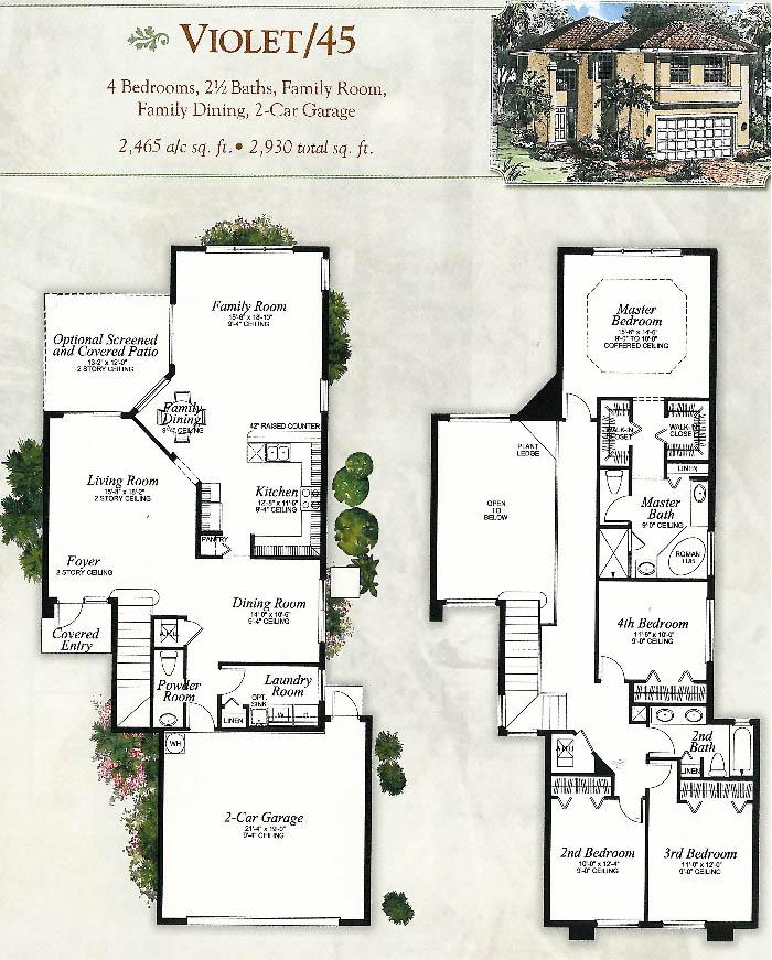 Gl homes floor plans florida for Bay to beach builders floor plans