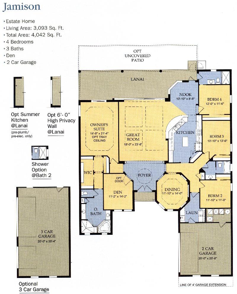The Plantation Floor Plans Genice Sloan Associates
