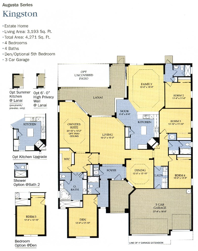 The plantation floor plans genice sloan associates for Plantation floor plan